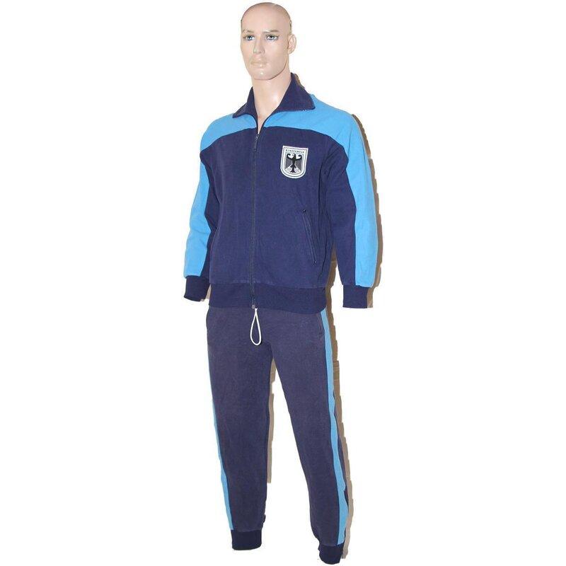 Bundeswehr Sport Trainingsanzug Jogginganzug Hose Sweatshirt robust blau orig