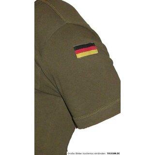 Bundeswehr Rolli Trikothemd Unterziehrolli angeraut Plüsch NEU