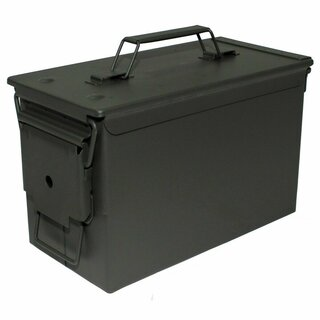 BW Munitionskiste US Ammo Box Metallkiste Metallbox Transportbox Metall Stahl